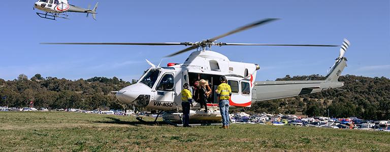 Heli-transfers provide access to remote locations