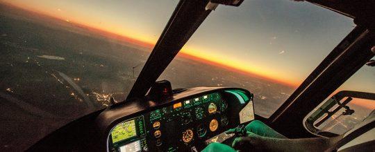 Night flying vs flying in the day
